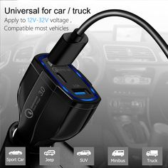 Car Charger iPhone Xs Max//XR//XS//X//8//7//6s Plus iPad,Pixel 4351613797 RedLin Quick Charge 3.0 36W Dual USB Car Charger Adapter Fast Car Charging Compatible with Galaxy Note 9//S9 //S9 Plus//Note 8