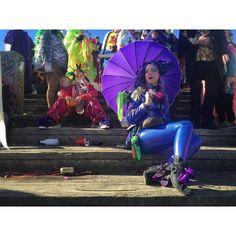 Angel (I)  #neworleans #nola #frenchquarter #vieuxcarre #carnival #mardigras #fattuesday #mississippiriver #moonwalk #purple #style #spirit #love by jonnodotcom