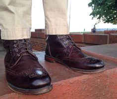 A Guide to Dress Boots (featuring Allen Edmonds Dalton) Allen Edmonds Dalton, Tweed Men, Modern Gentleman, Fresh Shoes, Only Shoes, Goodyear Welt, Dress With Boots, Casual Boots, Fashion Outlet