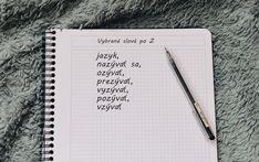Vybrané slová po Z Notebook, The Notebook, Exercise Book, Notebooks