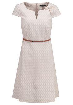 Ein schönes Kleid für deinen klassischen Look. comma, Freizeitkleid - brown für 103,95 € (23.07.16) versandkostenfrei bei Zalando bestellen.