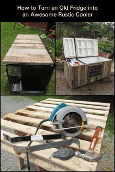 Now we think this is just the COOLEST cooler project ever. Why? Because an old fridge cooler offers a lot more features than all the other coolers out there! Know more about it and learn how to build one yourself now :)