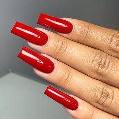 Jhohannails by Jho ( Sexy Nails, Glam Nails, Classy Nails, Trendy Nails, Coffin Nails, Acrylic Nails Stiletto, Long Red Nails, Grow Long Nails, Long Square Acrylic Nails