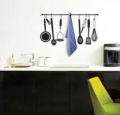 For your kitchen Kitchen Clipart, Kitchen Decor, Kitchen Design, Kitchen Ideas, Low Cost, Interior Architecture, Interior Design, Chalkboard Designs, 3d Wall Art