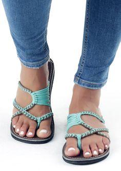 da07589dba20 Summer Splicing Flat Sandals - Fairyseason