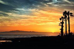 Sunset in Los Cristianos by Aleksandras Žvirzdinas on 500px