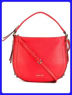 c3918d26b3a8d Michael Kors Julia Medium Leather Shoulder Bag in Coral Reef - Shoulder  bags ( Amazon