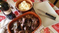 Chicken and smash potatos. Italian sunday lunch!