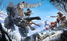 Horizon Zero Dawn, action, 4k, 2017 games