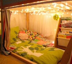 A fort with a mattress is a fun idea for any room (Photo by: Southern Disposition)