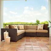 Found it at Wayfair - La Vie Deep Seating Sectional Sofa with Cushions