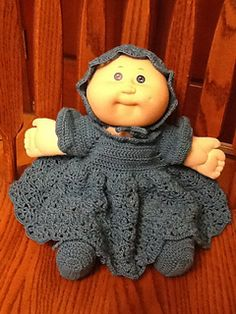 Cabbage patch doll shoes crochet pinterest cabbage patch ravelry cabbage patch preemie doll ensemble pattern by denise augostine owens dt1010fo