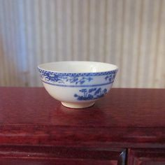 Miniature Dollhouse Stokesay Ware Bowl from England
