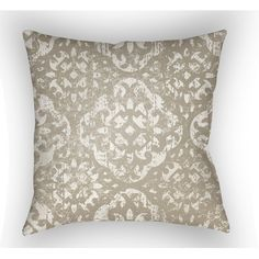 Surya Yindi Polyester Throw Pillow & Reviews   Wayfair