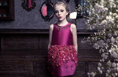 Mischka Aoki couture dresses for girls