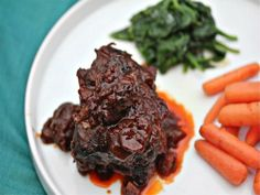 Sunday Supper: Braised Short Ribs With Porcini-Port Wine Sauce