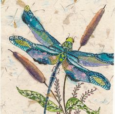 Dragonfly Painting, Watercolor Painting, Watercolor Paintings, Dragonfly Art, Watercolor batik, Dragonfly Prints by CarolesStudio on Etsy https://www.etsy.com/listing/279927726/dragonfly-painting-watercolor-painting
