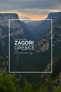 Discover the stunning Zagorochoria (Zagorohoria), Mt.Tymfi and Vikos Gorge in Epirus, Northern Greece
