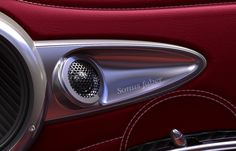 • High end car speakers by Sonus Faber - Complete car audio system for the Pagani Huayra