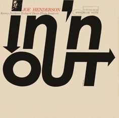 In 'n Out by Joe Henderson. Designed by Reid Miles