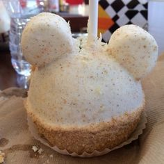 Apple Pie Caramel Apple recipe  from Marcelines Confectionary at Disneyland