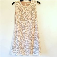 ⚡️FLASH SALE⚡️Ann Taylor Loft Dress White - Mini Dress - Size 2 Ann Taylor Dresses Mini