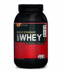 100% WHEY GOLD STANDARD. O Whey Gold 100% é um alimento protéico indicado para quem realiza exercícios, atividades físicas ou dietas com o objetivo de ganhar massa muscular magra.  Esta proteína é extraída do soro do leite e não possui lactose. Este composto possui um alto valor biológico, sendo absorvido rapidamente pelo organismo, além de ser rico em aminoácidos essenciais como o BCAA, elemento diretamente ligado ao aumento e a construção dos músculos.