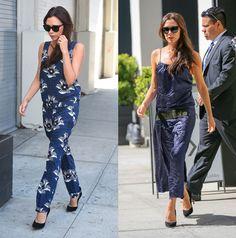 Victoria Beckham Takes Her New Collection to the Streets