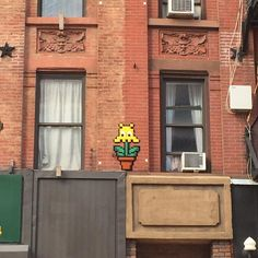On instagram by jrdsctt #spaceinvader #unas (o) http://ift.tt/1WHgJ76 found my first @invaderwashere Invader: NY_158! #Invader #SpaceInvader #StreetArt #NewYork #UpperEastSide