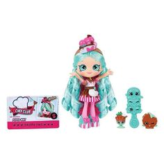 Shop for Shopkins Chef Club Peppa-Mint Shoppies Doll. Get free delivery On EVERYTHING* Overstock - Your Online Toys & Hobbies Shop! Get in rewards with Club O! Shoppies Dolls, Shopkins And Shoppies, Shopkins Chef Club, Shopkins Guide, Shopkins Season 6, Best Christmas Toys, Christmas 2016, Xmas, Moose Toys