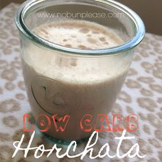 Low Carb, Dairy-free, Keto Horchata - No Bun Please This website also looks like a wonderful Low-carb resource (simple icing recipe dairy free) Keto Diet Drinks, Low Carb Drinks, Keto Drink, Keto Cocktails, Horchata Recipe, Keto Diet List, Keto Meal, Keto Approved Foods, Smoothie