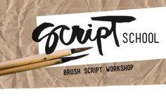 Kal Barteski Script School Hand Lettering Tutorial