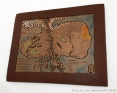 Map Sketch, Scale Map, Unique Gifts, Best Gifts, Third Anniversary, Custom Map, Leather Craft, Hand Carved, Vintage World Maps