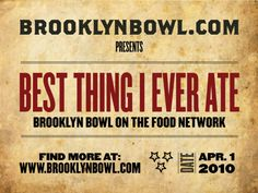 Food Network Best Thing I Ever Ate Nyc