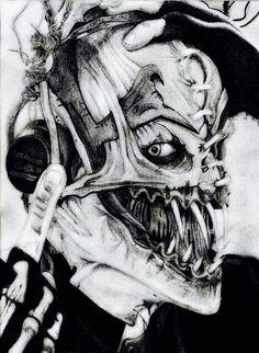 Mushroomhead // I really need to create myself such mask!