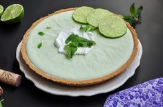 cool Margarita Pie Pastel