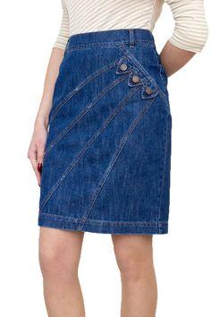 New Ladies Casual Boutique Knee Length Pencil Blue Denim Skirt UK 8 10 12 14 16 18 20 22 Jeans Dress, Denim Skirt, Denim Jeans, Denim Outfits, Skirt Outfits, Women's Straight Jeans, Denim Fashion, Fashion Outfits, Sewing Projects