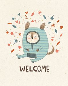 LOVE this illustrator i found on etsy - kate hindley! sooo cute!!