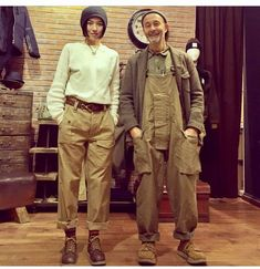 Nigel Cabourn, Army Pants, Baggy Clothes, Grey Fashion, Men's Fashion, Complete Outfits, Military Fashion, Streetwear Fashion, Work Wear