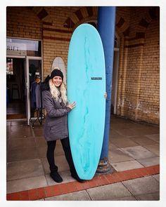 New board for Kelly! #visionary #custommade #surfboards #surfboard #resintint #madetoorder #madeinengland http://ift.tt/19MEsb6
