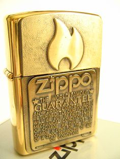 Zippo Guarantee Surprise Lighter   Flickr - Photo Sharing! Cool Lighters, Cigar Lighters, Cool Zippos, Zippo Usa, Bronze, Light My Fire, Smoking Accessories, Zippo Lighter, Cigarette Case