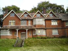 Undershaw, the legendary and unfortunately decrepit former domicile of Arthur Conan Doyle, where many of his greatest works were conceived/written, including 'The Hound of the Baskervilles'.