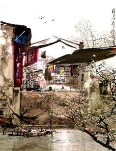 LIU MAOSHAN Arrival of Spring in Jiangnan