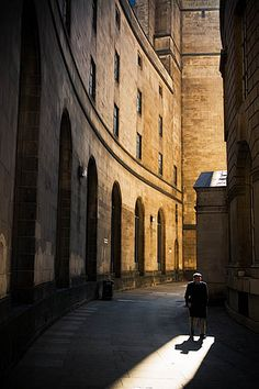 Library Walk, Manchester Central Library, Manchester, England, United Kingdom, 2007, photograph by Darby Sawchuk.