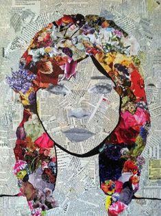 Gefühle - Gesichtszüge aus Zeitungen ausschneiden?