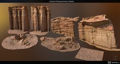 ArtStation - Photogrammetry Process Overview for Real-Time Use, Guilherme Rambelli