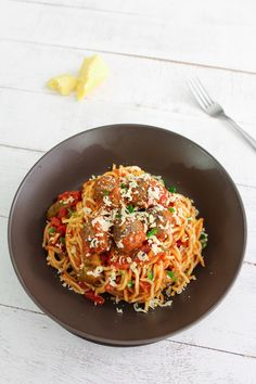 Better than Pastamania Spaghetti Bolognese with Meatballs | The Man With The Golden Tongs | Scoop.it