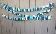 Clothespin Backdrop Garland Banner for a by LaceTwineAndBurlap, $42.00