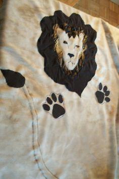 Bret's Lion Blanket