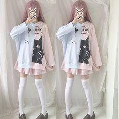 Japanese Kawaii Cartoon Hoodie Pullover SP1710810
